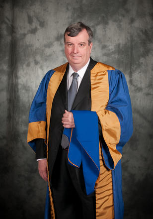 Professor Peter Boyle awarded LLD