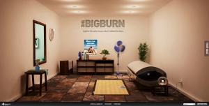 The Big Burn homepage